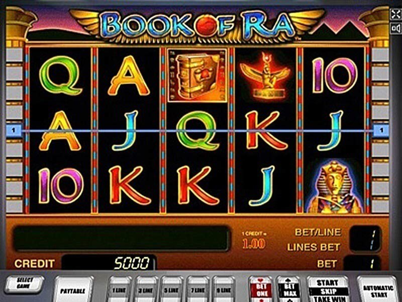 Book of Ra Slot Online Test